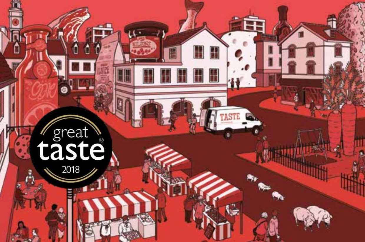Two Great Taste Awards for Anthea's this year